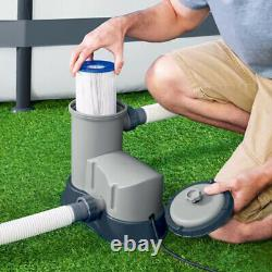 Electric 1500 GPH Filter Pump for Above Ground Swimming Pool 58390E+Cartridge
