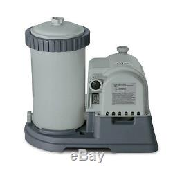 Filters and Pumps for Above Ground Pools INTEX 28633EG 2500Gallon GFCI 110-120V