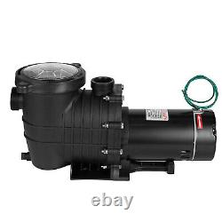 Generic 1.5HP Swimming Pool Pump Motor In/Above Ground with Strainer Filter Basket