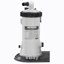 Hayward C4001575XES Above Ground Swimming Pool Cartridge Filter System withPump