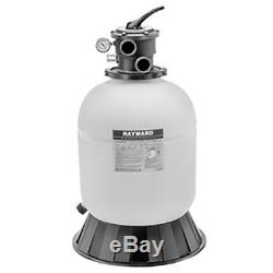 Hayward S180T Pro-Series Above Ground Swimming Pool Sand Filter with SP0714T Valve
