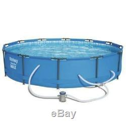Heavy Duty Above Ground Swimming Pool Set Ultra Frame + Sand Filter Pump New