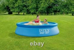 INTEX 8ft x 24 Easy Set Above Ground Swimming Pool with Filter Pump FREE SHIP