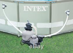 INTEX Krystal Clear 2800 GPH Sand Filter Pool Pump with Maintenance Kit