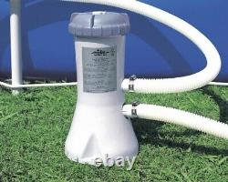 Intex 1000 GPH Easy Set Pool Filter Pump withGFCI & 6 Type A Filter Cartridges