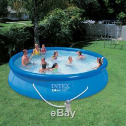 Intex 10' x 30 Above Ground Pool with Cartridge Filter Pump, 2 Filters & Cover