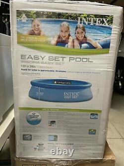 Intex 10 x 30 Easy Set Above Ground Swimming Pool w Filter Pump NEW SHIP NOW