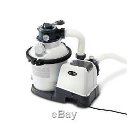 Intex 1200 GPH Above Ground Pool Sand Filter Pump with Automatic Timer(Open Box)