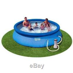 Intex 12' x 30 Easy Set Above Ground Swimming Pool & Filter Pump Used