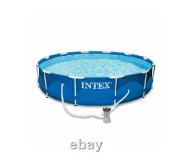 Intex 12' x 30 Metal Frame Above Ground Pool with Filter Pump