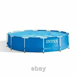 Intex 12' x 30 Metal Frame Above Ground Pool with No Filter Pump SHIPS FAST