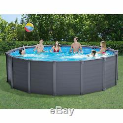 Intex 15.6ft x 49in Above Ground Swimming Pool Set with Sand Filter Pump & Ladder