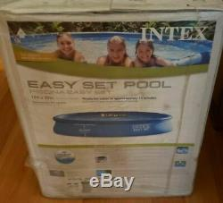 Intex 15' x 33'' Easy Set Above Ground Swimming Pool with Filter Pump 28157EH
