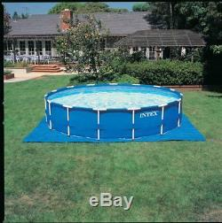 Intex 15' x 48 Metal Frame Above Ground Pool with Filter Pump NO SALES TAX