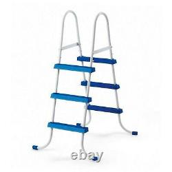 Intex 15ft X 48in Metal Frame Above Ground Pool Set Filter Pump Ladder Cover