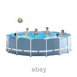 Intex 16 ft x 48 Prism Frame Above Ground Pool with Filter Pump