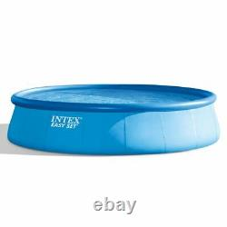 Intex 18' x 48 Easy Set Above Ground Swimming Pool with 1500 GPH Filter Pump