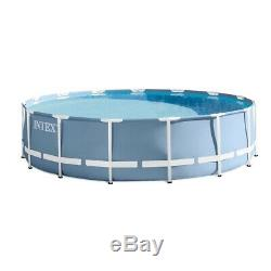 Intex 26719EH 14foot x 42inch Prism Frame Above Ground Swimming Pool with Filter