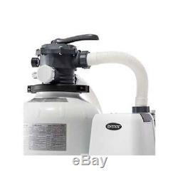 Intex 2800 GPH Above Ground Pool Sand Filter Pump with Automatic Timer(Open Box)
