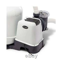 Intex 3000 GPH Above Ground Pool Sand Filter Pump with Automatic Timer(Open Box)