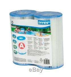Intex Easy Set Swimming Pool Type A or C Filter Replacement Cartridges (6 Pack)