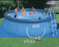Intex Inflatable Above Ground Swimming Pool with Ladder 18x48 Plus Filter