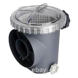 Intex Krystal Clear 3000 GPH Above Ground Pool Sand Filter Pump and Wall Skimmer