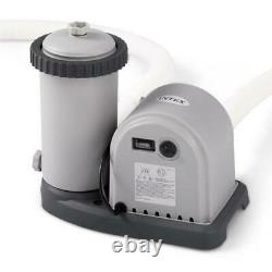 Intex Krystal Clear Cartridge Filter Pump for Above Ground Pool up to 1,500