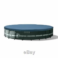 Intex Ultra XTR 20' x 48 Round Frame Above Ground Swimming Pool Set Pump Filter