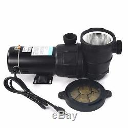 Large 20 Sand Filter 4500GPH with 1 HP Above Ground Swimming Pool Pump