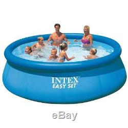 NEW Intex 12ft x 30in Easy Set Above Ground Pool with Filter Cartridge Pump