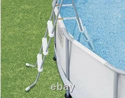 NEW SummerWaves 14' x 42 Above Ground Pool with Ladder, Pump, Cover, Elite Frame
