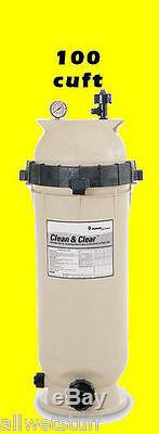 Pentair 100 Clean & Clear Complete Pool Filter 100 cuft