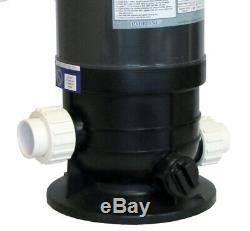 Pooline Pro Above Ground Pool 120sf Cartridge Filter System with 1.5 HP Pump