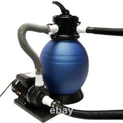 Rx Clear 12 Above Ground Sand Filter System For Intex Pools with 1/2 HP Pump