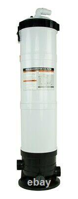 Rx Clear DE Element Above Ground Swimming Pool Filter Tank 100 Sq. Ft
