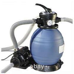 Sand Master Above Ground Swimming Pool 12 Sand Filter with Pump (For Parts)