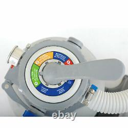 Summer Waves 10 Inch Sand Filter Pump System for Above Ground Pools (Open Box)