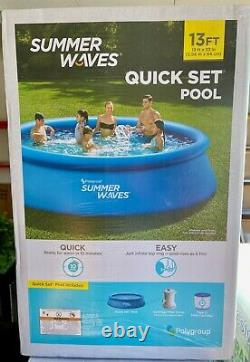 Summer Waves 13 ft x 33 in Above Ground Pool & Filter Pump, FREE SHIPPING 13