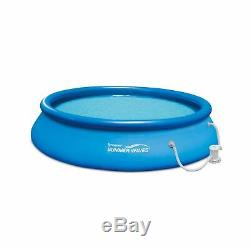 Summer Waves 15' x 36 Quick Set Above Ground Swimming Pool with Filter Pump