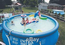 Summer Waves 15' x 36 Quick Set Above Ground Swimming Pool with Filter Pump Sys