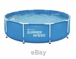 Summer Waves Active Frame 10ft x 30in Above Ground Pool Filter Pump