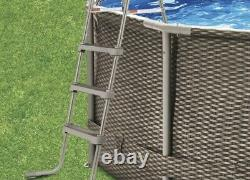 Summer Waves Active Frame 14ft x 36in Above Ground Pool with Filter Pump NEW