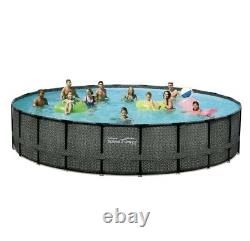 Summer Waves Elite 22' x 52 Above Ground Pool with2,000GPH Filter Pump In Hand
