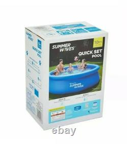 Summer waves 10'x30 Portable Above Ground Pool with Filter Pump! SHIPS FAST