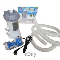 Swimming Pool Filter Pump Clear 15ft to 18ft 1000 Gallon Per Hour For Intex NEW