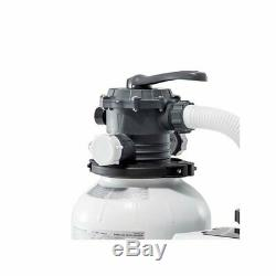 Swimming Pool Sand Filter Pump with Automatic Timer Swimming Pool Cleaner