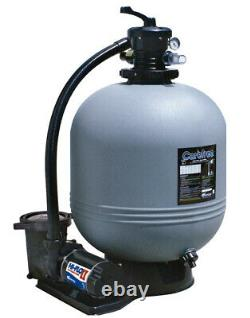 Waterway Carefree Above Ground Swimming Pool Sand Filter with Pump (Choose Size)