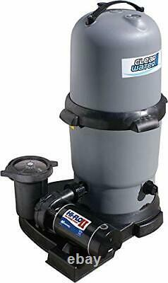 Waterway Clearwater II DE Above Ground Swimming Pool Filter with 1 HP Pump